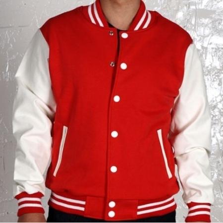 varsity wool leather jackets