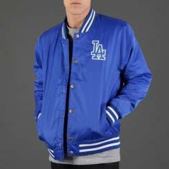 custom satin baseball jackets